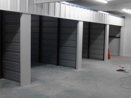 Building Indoor Self Storage Units