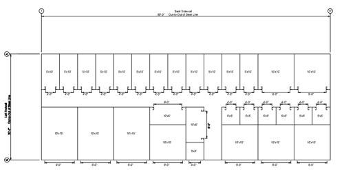Building Plans Self Storage Units