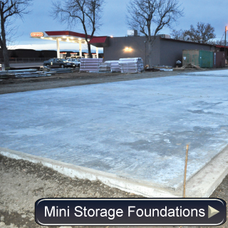 Mini-Storage Foundation Photos