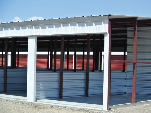 Construction For Self Storage Buildings