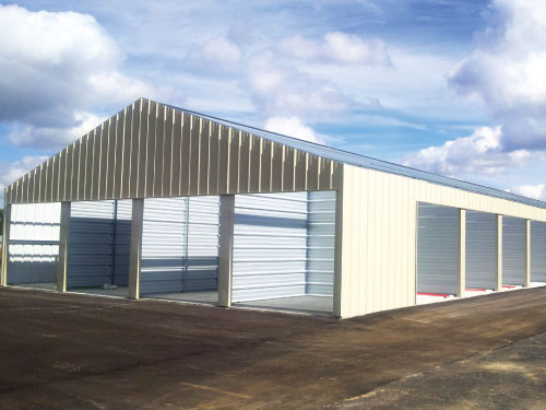 Mini Storage Units Erections